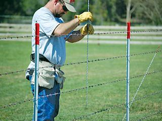 Types of livestock and animal fencing